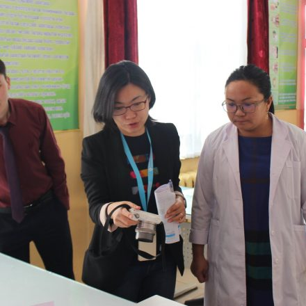 Ms.Yin Chang has made a Approval visit on behalf of Cambridge international education assessment